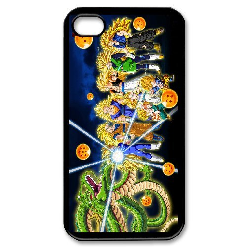 Personalised Custom iPhone 4 4s Phone Case Dragon Ball Z