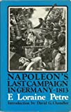 img - for Napoleon's Last Campaign in Germany, 1813 book / textbook / text book