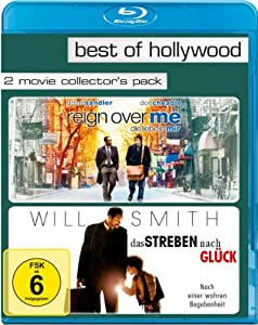 Reign Over Me - Die Liebe in mir/Das Streben nach Glück - Best of Hollywood/2 Movie Collector's Pack [Blu-ray]