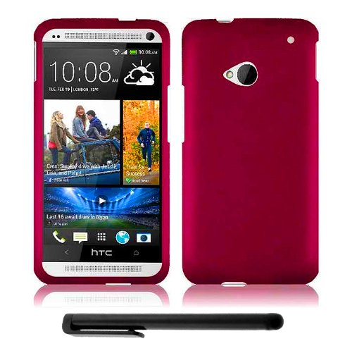 Review:  HTC One (M7) Snap-On Protector Hard Cover Case + Bonus Long Arch 5.5