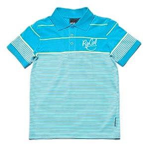 Rip Curl Kinder Poloshirt PARALLELOID, BLUE ATOLL, 152 (12)