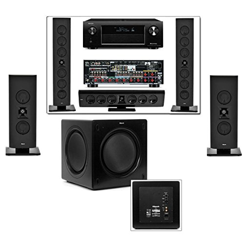 Klipsch Gallery G-28 5.1 Home Theater-Sw-310-Denon Avr-X4000 In-Command 7.2Channel
