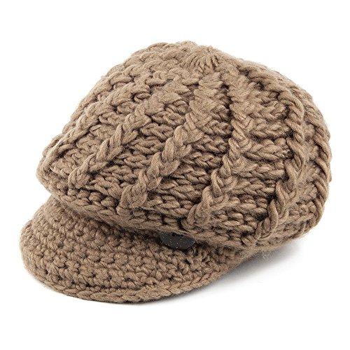 bonnet-a-visiere-en-crochet-camel-scala-camel-taille-unique
