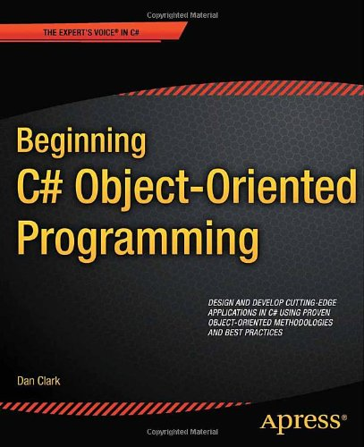 Beginning C # Object-Oriented Programming