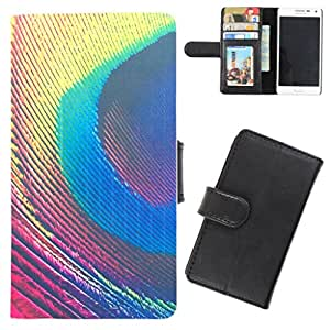 DooDa - For Micromax Unite 3 Q372 PU Leather Designer Fashionable Fancy Flip Case Cover Pouch With Card, ID & Cash Slots And Smooth Inner Velvet With Strong Magnetic Lock