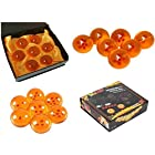 Generic Anime Dragonball Z Stars Acrylic Crystal Glass Ball 7pcs Set with Gift Box