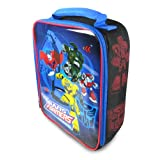 Transformers Vertical Rectangle Lunch Tote - Black