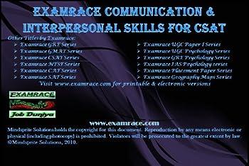 examrace communication and interpersonal skills for csat (examrace aptitude series) - examrace experts