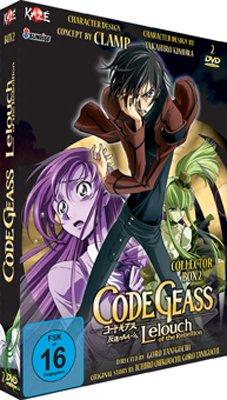 Code Geass: Lelouch of the Rebellion - Staffel 1 - Box Vol. 2 (2 DVDs) [Alemania]