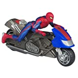 The Amazing Spider-Man Zoom N Go Spider Cycle Vehicle