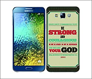 Galaxy Printed 1718 CHRISTIAN TYPOGRAPHY STRONG Hard Cover for Samsung GRAND NEO
