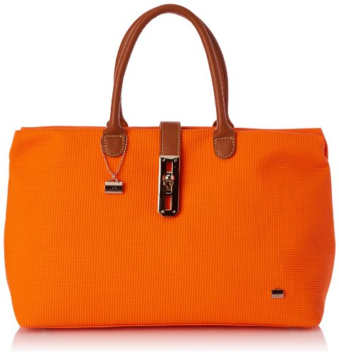 La Bagagerie Women's Shop Ngo Top-Handle Bag Orange orange Taille Unique