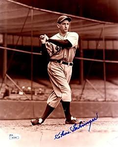 Autographed Charlie Gehringer 8X10 Detroit Tigers Photo -JSA by Main+Line+Autographs