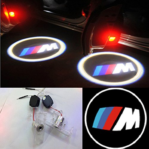 2X Led Door Courtesy Shadow Ghost Lamp Projector Light For Bmw 3Series E90