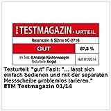 Rosenstein-Shne-Analoge-Retro-Kchenwaage-mit-Tara-Funktion