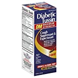Diabetic Tussin DM Cough Suppressant & Expectorant, Maximum Strength, Liquid, 4 fl oz (118 ml)