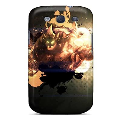 New Diy Design League Of Legends Malphite For Galaxy S3 Cases Comfortable For Lovers And Friends For Christmas Gifts