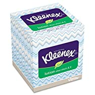 Kleenex Upright Facial Tissue With Lotion-75CT UPRT KLEENEX TISSUE