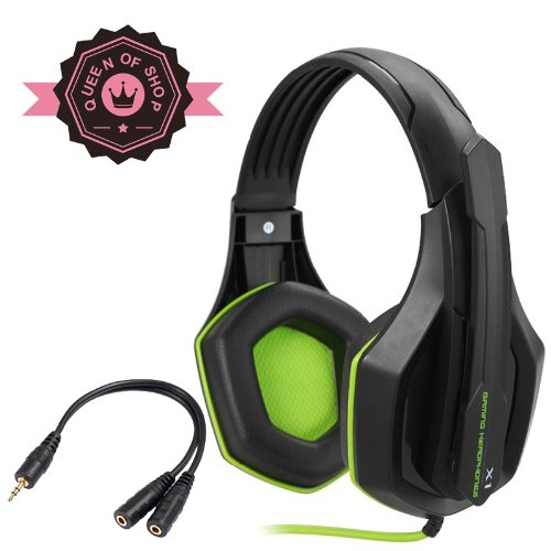 Gaming Peripherals X1 Blue 3D Cutting Design Gaming Headphones Hd Enthusiast Gaming Weapon With Electric Gaming Equipment Horn And Condenser Microphone