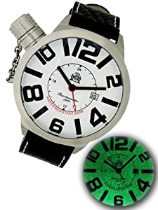 Tauchmeister T0142 XXL Dive GMT Watch with Luminous Dial
