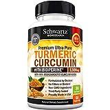 Turmeric Curcumin with Bioperine Anti-inflammatory, Antioxidant & Anti-Aging Turmeric Supplement. Joint Pain Relief with 95% Standardized Curcuminoids. Non-GMO Turmeric Capsules with Black Pepper