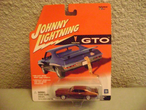Johnny Lightning Pontiac 1971 GTO 455 H.O