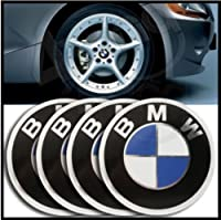 25 65mm Bmw Emblem Wheel Center Hub Cap Sticker Set Of 4 from CA