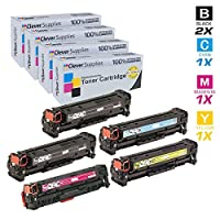 SIT compatible Compatible Toner Cartridges Replacement for Dell 7130CDN 4-Pack, Black, Cyan, Magenta, Yellow