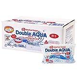 Double AQUA(ダブルアクア) たっぷりの水で洗い流すおしりふき 55枚×12個 厚手タイプ