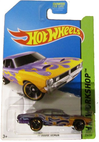 Hot Wheels 2014 Hw Workshop Heat Fleet '71 Dodge Demon 216/250 - 1