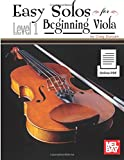 Easy Solos for Beginning Viola: Level 1: With Piano Accompaniment