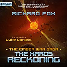 The Xaros Reckoning: The Ember War, Book 9 Audiobook by Richard Fox Narrated by Luke Daniels