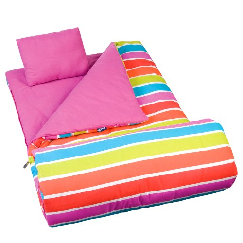 Wildkin Bright Stripes Original Sleeping Bag