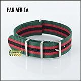 G10 Nylon Nato Watch Strap PAN AFRICA