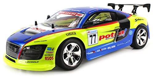 Audi R8 Gt3 Electric Remote Control Rc Car Big Size 1:10 Scale Ready To Run Rtr Working Suspension, Rechargeable Battery (Colors May Vary)