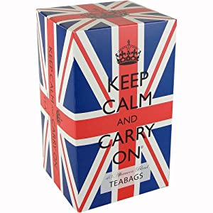 Keep Calm and Carry On Afternoon Tea