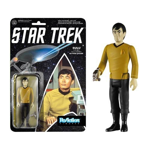 Star Trek Sulu ReAction 3 3/4-Inch Retro Action Figure - 1