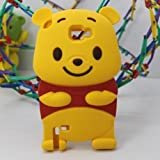 Winnie the Pooh 3D Cartoon Soft Shell Case for Samsung Galaxy Note II GT-N7100