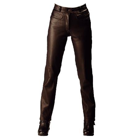 Roleff Racewear 238 Pantalon Cuir, Noir, 38