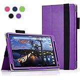 Dell Venue 8 7000 / 7840 Case - Exact [Pro Series] PU Leather Folio Case for New Dell Venue 8 7000 Series (7840...
