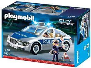 PLAYMOBIL 5179 - Polizeifahrzeug mit Blinklicht