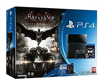 PS4 Console with Batman: Arkham Knight (PS4)