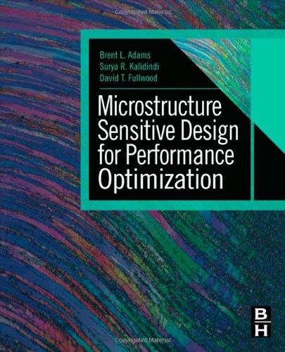 Microstructure Sensitive Design For Performance Optimization