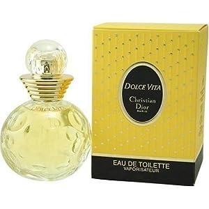 (快抢)迪奥 快乐之源淡香水喷雾 100ml Dolce Vita Perfume by Christian Dior $25.99