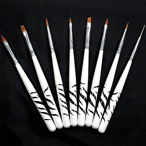 8PCS-Drawing-Polish-Pen-Painting-Tools-Nail-Art-Brushs-Design-Set-Dotting