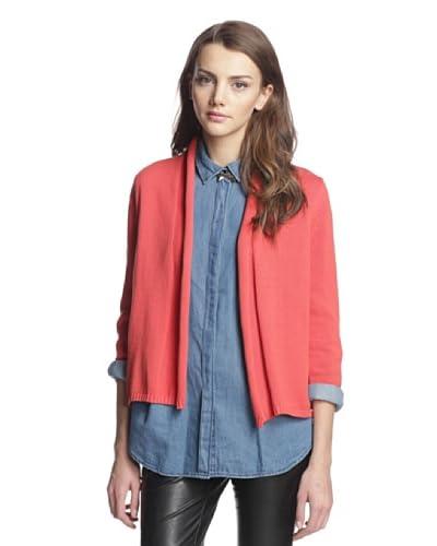 Cotton Addiction Women's Shawl Collar Cardigan