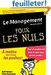 Le Management Poche Pour les Nuls, nl...