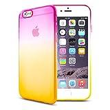 Z-NUMBER1 iPhone6/iPhone6s(4.7インチ)用 グラデーション 衝撃吸収 シリコンケース TPUケース スマホ スマートフォン ケース カバー スマホカバー スマホケース シリコンカバー iPhone6 iPhone6s アイフォン6 アイフォン6s アイフォン6ケース アイフォン6sケース iphone6ケース ソフトケース 人気 衝撃 a058 15ID12-3-YELPNK