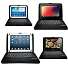 MoKo Wireless Bluetooth Keyboard Cover Case for 8.9 - 9.0 - 9.7 - 10.1 - 10.5 Inch Tablet