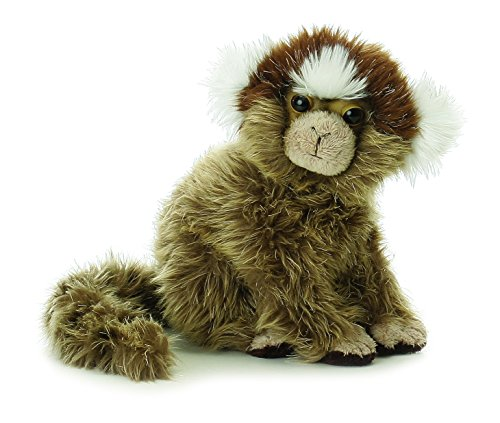 "Aurora Plush Marmoset Mini Flopsie 8"" by Aurora - 1"